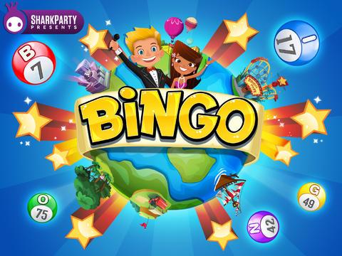 Shark PArty bingo app